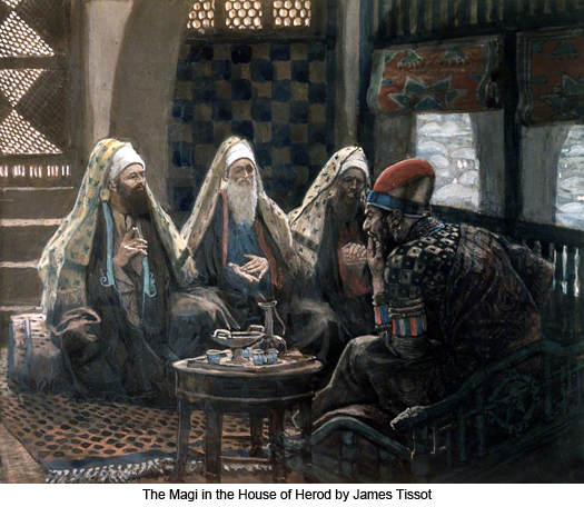The Wise Men and Herod by James Tissot