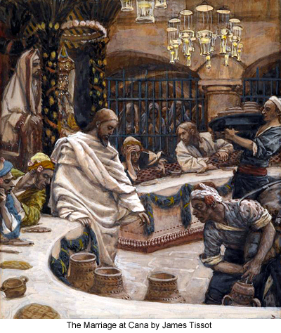 The Marriage at Cana by James Tissot