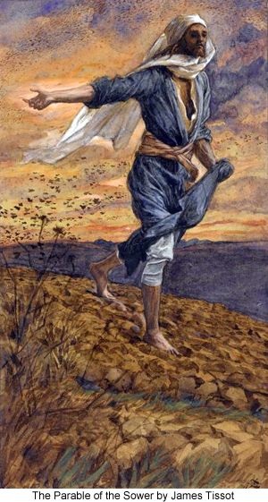 The Parable of the Sower by James Tissot