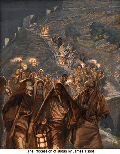 The Procession of Judas by James Tissot