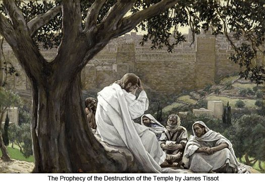 The Prophecy of the Destruction of the Temple by James Tissot
