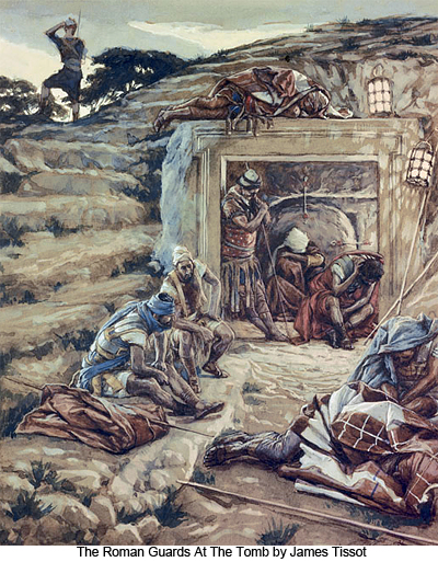 The Roman Guards at the Tomb by James Tissot