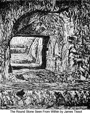 The Round Stone Seen From Within by James Tissot