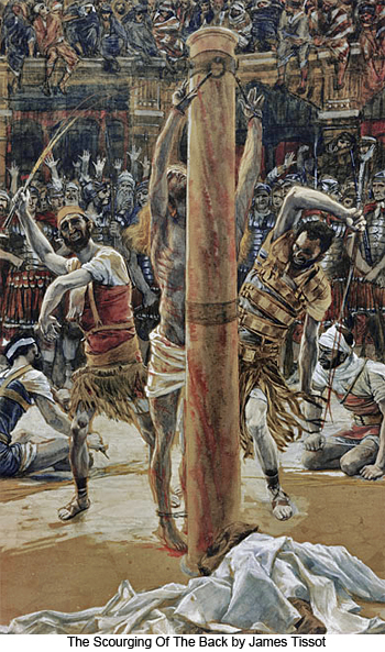 The Scourging Of The Back by James Tissot