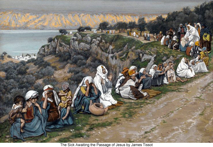 The Sick Awaiting the Passage of Jesus by James Tissot
