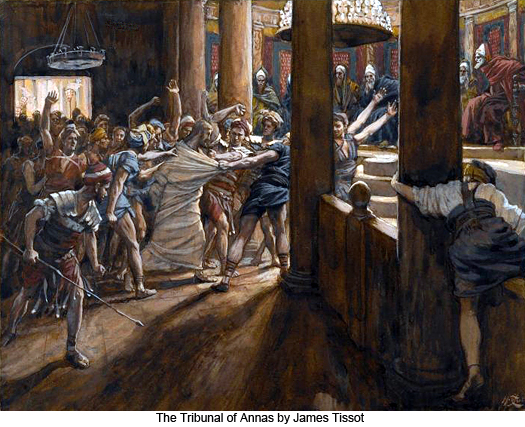 The Tribunal of Annas by James Tissot