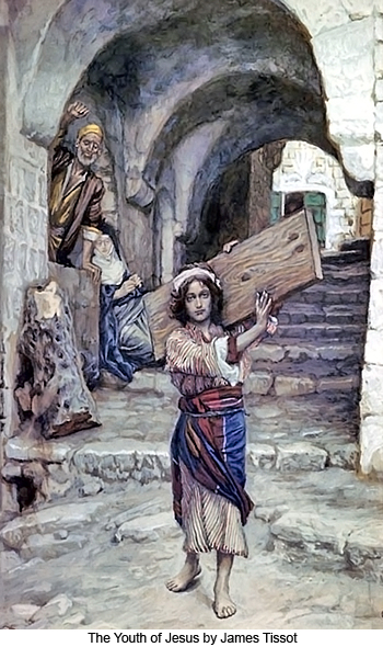 The Youth of Jesus by James Tissot