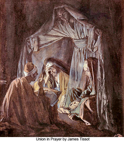 Union in Prayer by James Tissot