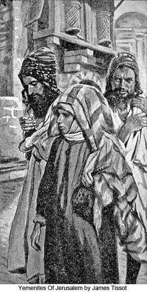 Yemenites of Jerusalem by James Tissot