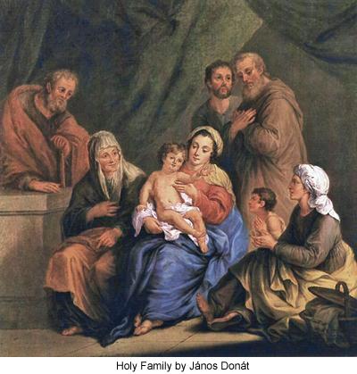 Holy Family by János Donát