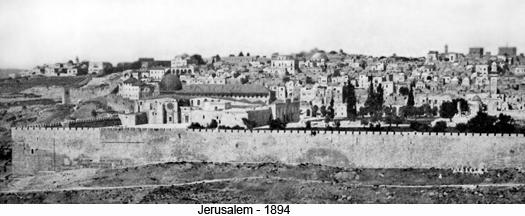Jerusalem - 1894