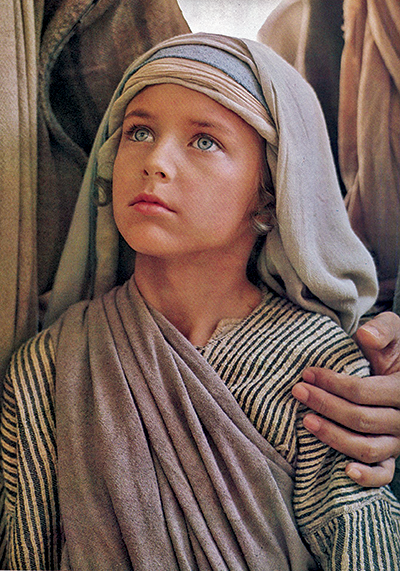 Jesus as a boy
