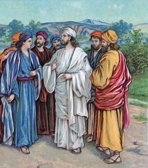 Jesus Went About Teaching