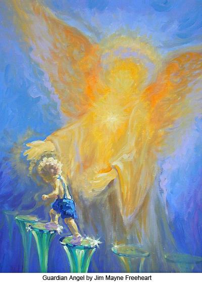Guardian Angel by Jim Mayne Freeheart