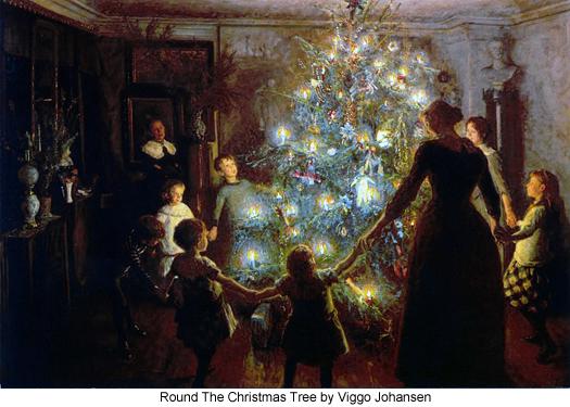 Round The Christmas Tree by Viggo Johansen