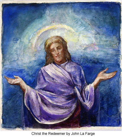 Christ the Redeemer by John La Farge