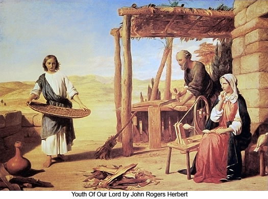 Youth of Our Lord by John Rogers Herbert
