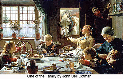 One of the Family by John Sell Cotman