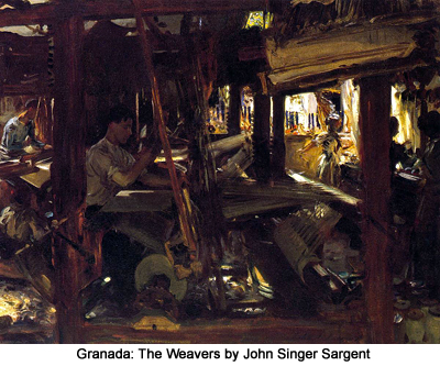 Granada: The Weavers by John Singer Sargent