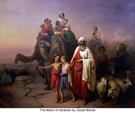 The March of Abraham by József Molnár