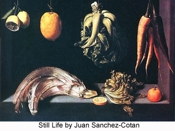 Still Life by Juan Sanchez-Cotan