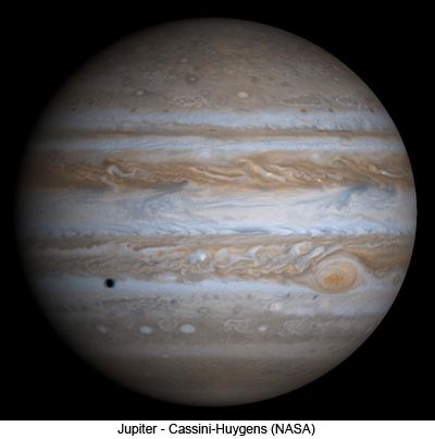 Jupiter - Cassini-Huygens (NASA)