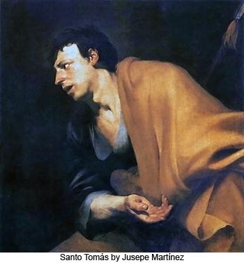 Santo Tomas by Jusepe Martínez