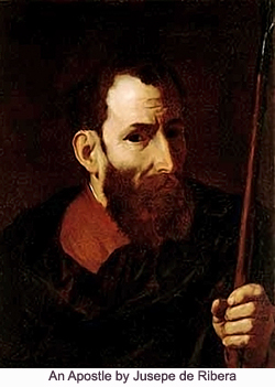 An Apostle by Jusepe de Ribera