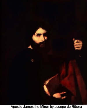 Apostle James the Minor by Jusepe de Ribera