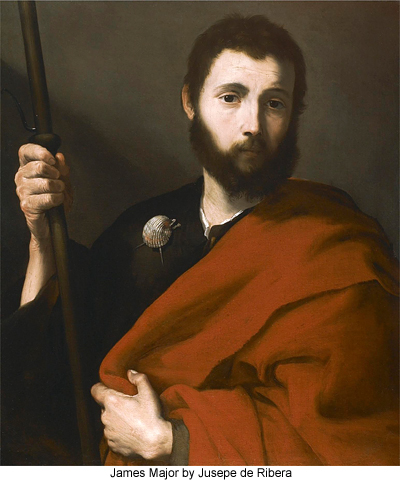 James Major by Jusepe de Ribera