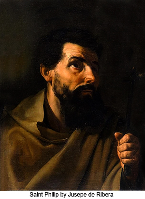 Saint Philip by Jusepe de Ribera
