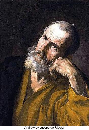 Andrew by Jusepe de Ribera