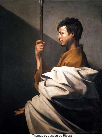 Thomas by Jusepe de Ribera
