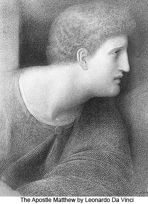 The Apostle Matthew by Leonardo da Vinci