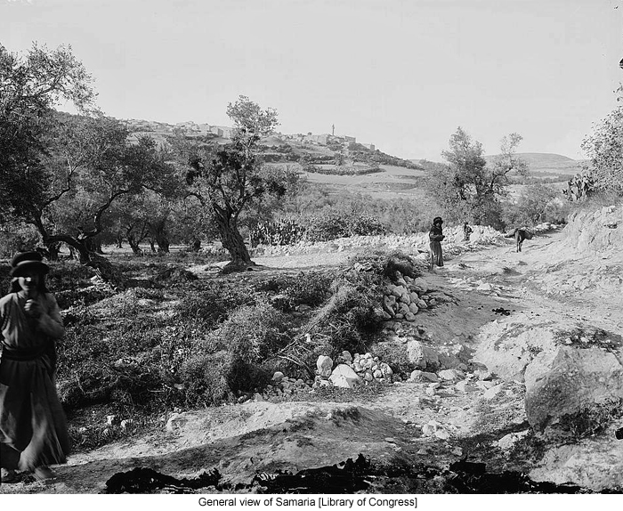 General view of Samaria [Library of Congress]