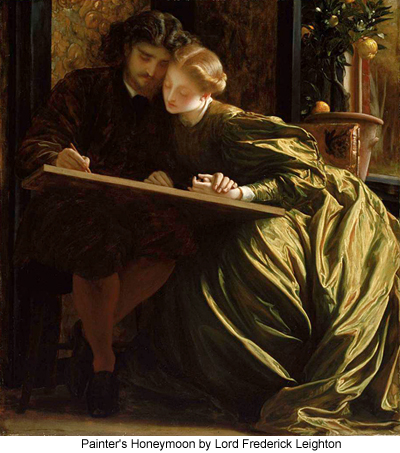 Painters Honeymoon by Lord Frederick Leighton