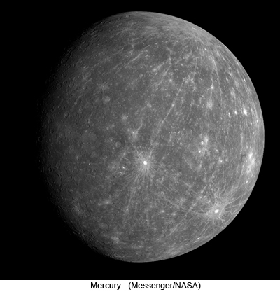 Mercury - (Messenger/NASA)