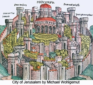 City of Jerusalem by Michael Wohlgemut