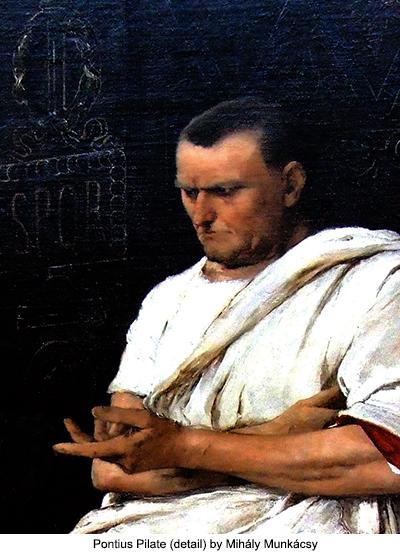 Pontius Pilate (detail) by Mihály Munkácsy