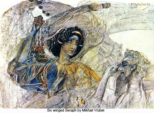 Six Winged Seraph by Mikhail Vrubel