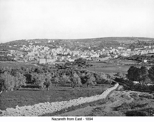 Nazareth from the East - 1894