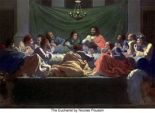 The Eucharist by Nicolas Poussin