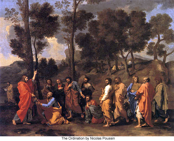 The Ordination by Nicolas Poussin