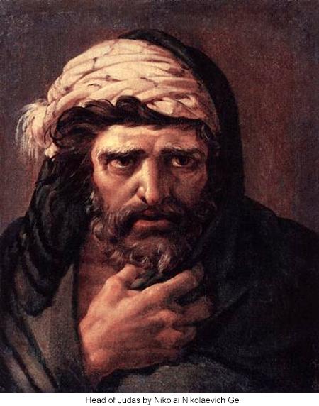 Head of Judas by Nikolai Nikolaevich Ge