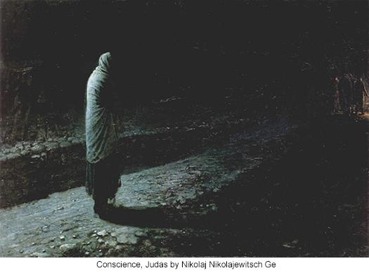 Conscience, Judas by Nikolaj Nikolajewitsch Ge