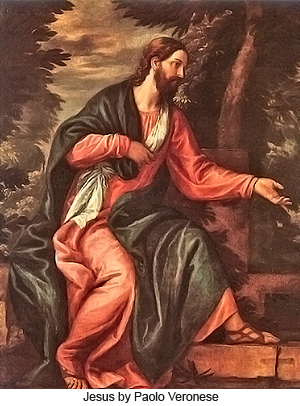 Jesus by Paolo Veronese