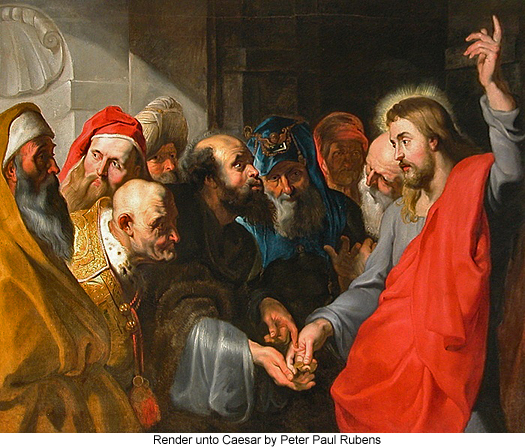 Render unto Caesar by Peter Paul Rubens