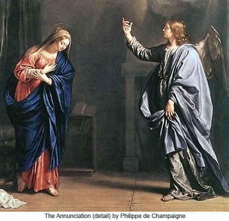 The Journey of a Bishop Todays Gospel The Annunciation to Mary – Jesus Birth Announcement