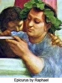 Epicurus by Raphael