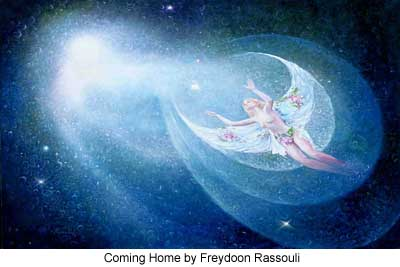 Coming Home by Freydoon Rassouli